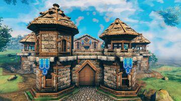 Castle Keep Valheim Build