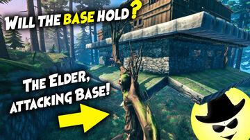 The Elder, attacking Base! - Will the base hold? | Valheim Valheim Build