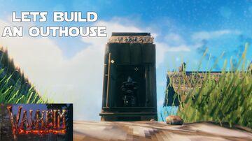 A Viking Porta-Potty? Valheim Build