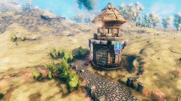 Castle keep guide build pt1 Watchtower Valheim Build