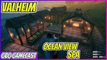 Valheim Ocean View Spa Valheim Build