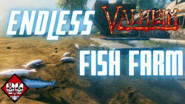 How to Make a Fish Farm Valheim Build