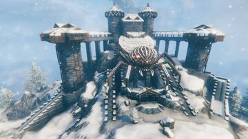 Castle of Relique (FINISHED!) Valheim Build