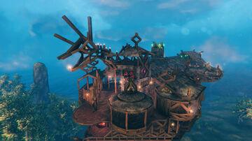 Mythic's Sky Mansion Valheim Build