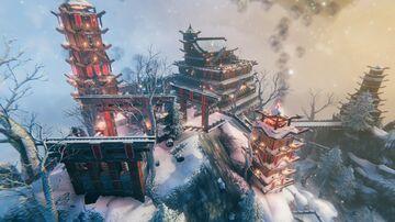 Fantasy Japanese Temple Valheim Build