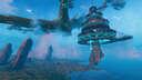The Shroom: Valheim's Premiere Floating Nightclub   (Audio Recommended...) Solo survival build Valheim Build