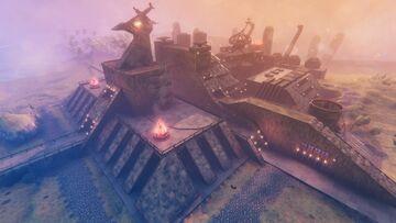 Voltes V Camp Big Falcon | Valheim Build Valheim Build