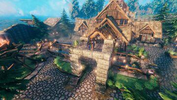 Base + Landscape | Valheim Build Valheim Build