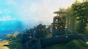 My main survival base (So far) Valheim Build