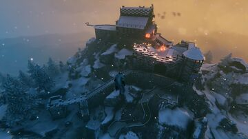 Castle build Valheim Build