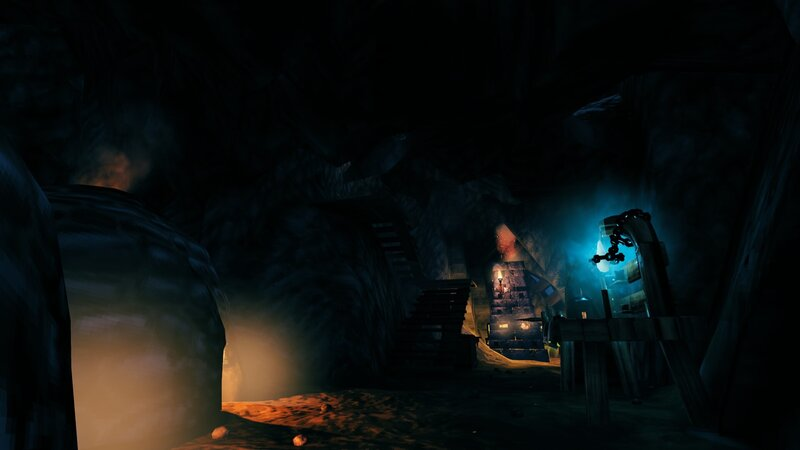 Smelting cave beneath the keep.