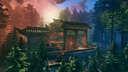 Nanomura - An Epic Crossover of Overwatch's Hanamura Valheim Build