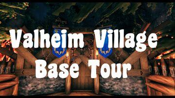 Valheim Village Base Valheim Build
