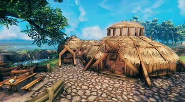 Lin's Survival farm-all purpose base vbuild Valheim Build