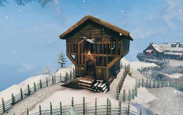 A true Viking house vbuild. Valheim Build