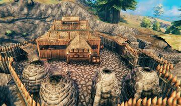Lin's Mini Smelter base vbuild. Perfect for survival game Valheim Build