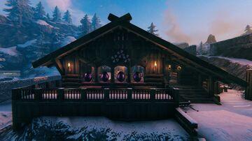 Lin's Fancy mountain house with underground workshop  vbuild Valheim Build