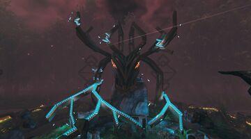 Home of Eikthyr fantasy build by Lin and Raphium Valheim Build