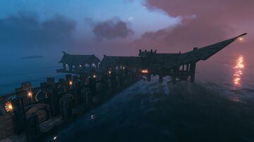 Ocean Villa Valheim Build