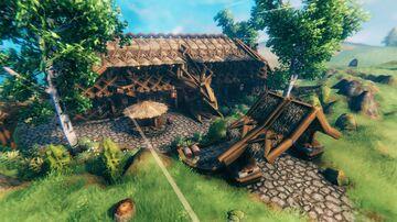 Dragon's End Tavern Valheim Build