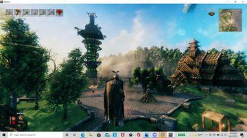 City of Overlook - Solo base build Valheim Build