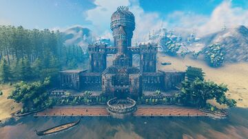 The Crow Hall Valheim Build