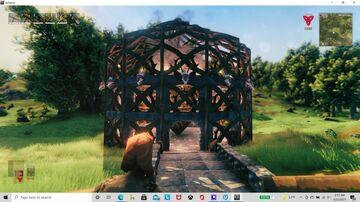 Three tier portal hub Valheim Build