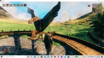 Eagle statue Valheim Build