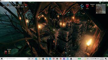 Large swamp treehouse Valheim Build