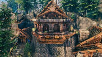 black forest marketplace Valheim Build