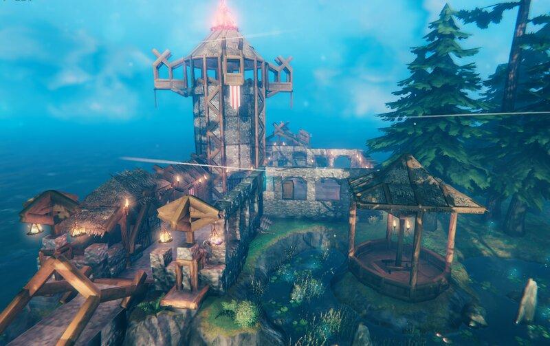 Lighthouse and Gazebo