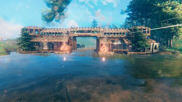 My Beautiful River Mouth Base Valheim Build