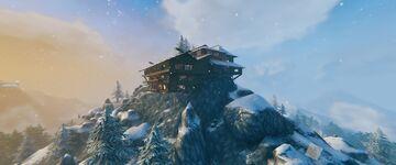 A Mountain Home Valheim Build