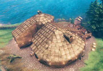 Aurilantis Meadows Base Valheim Build