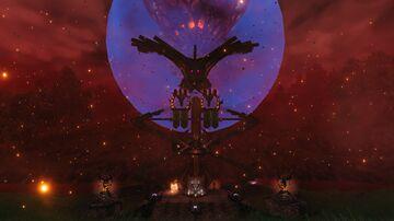 Shamanic Portal Hub tower - No mods/console Valheim Build