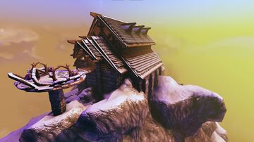 High Summit Lodge (A-Frame Longhouse) Valheim Build