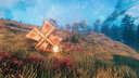 Windmill Trap  - My Experiment of Using Windmill to Kill the Enemies Valheim Build