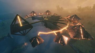 Sky Village Valheim Build