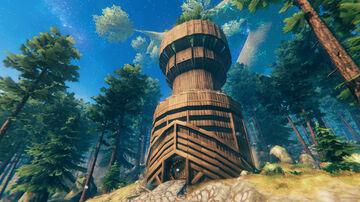 New tower build teaser Valheim Build