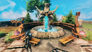 Water fountain Valheim Build