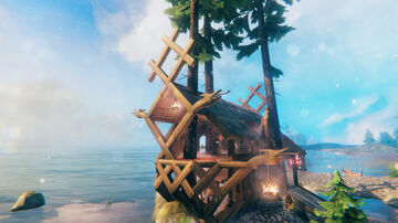 Mythic Makeovers™ EP 1.5 - From outpost to port (No cheats, no mods) Valheim Build