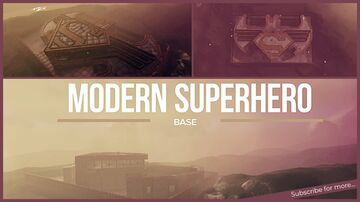 🦸♂️ Modern Superhero Base Valheim Build