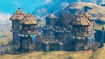 Castle FInal part Valheim Build