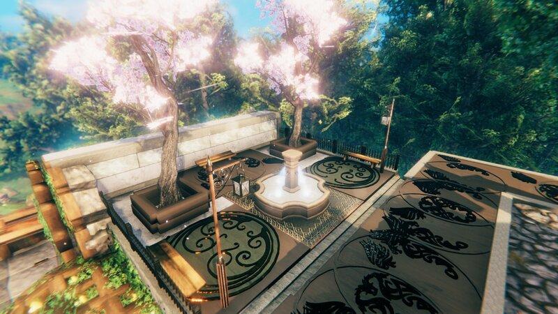 The modern garden mod Build it