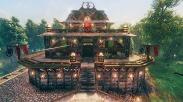 Tombstone Temple Valheim Build