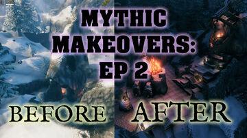 MYTHIC MAKEOVERS™ EP 2 - THE MOUNTAIN DIGSITE (No cheats, no mods) Valheim Build