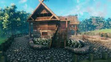 Valheim Hunting Lodge/Tavern Build Valheim Build