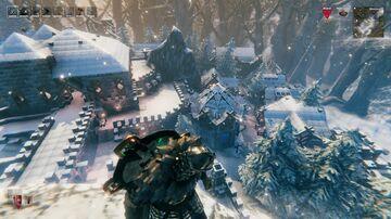 Village hidden in the mist...lands Valheim Build