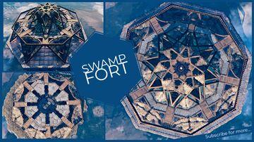 Swamp Fort✨ Valheim Build