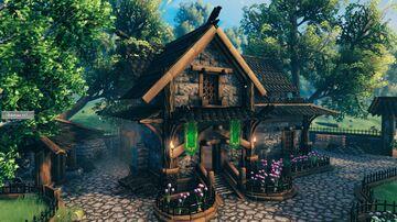 Medieval Home Valheim Build